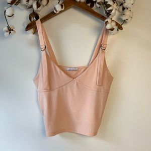 Zara Light Pink Crop Top S